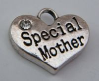 Special Mother Personalised Wine Glass Charm - Elegance Style
